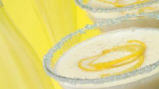 Sorbete helado de limón al cava