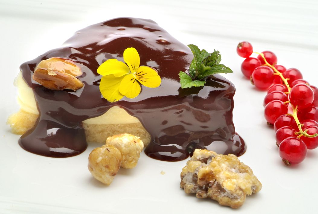 25 postres y tartas para triunfar en San Valentín - Capricho de mascarpone y frutos secos