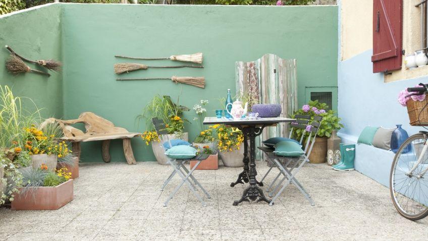 Tono Terraza : Terraza fresca con estilo mediterráneo decogarden