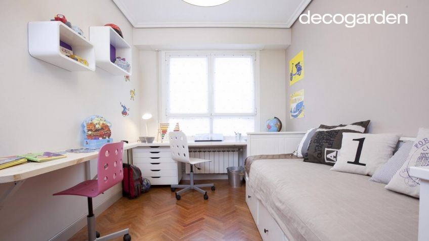 Habitacion juvenil decoracion cool utilizar fotos para - Decoracion para habitacion juvenil ...