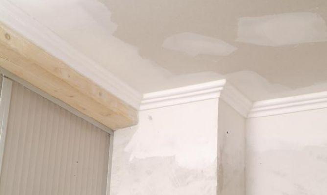 Pintar techo de yeso laminado y molduras de poliestireno - Como pintar techos ...