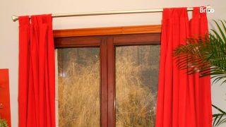 Cómo arreglar la sujeción de una barra de cortina