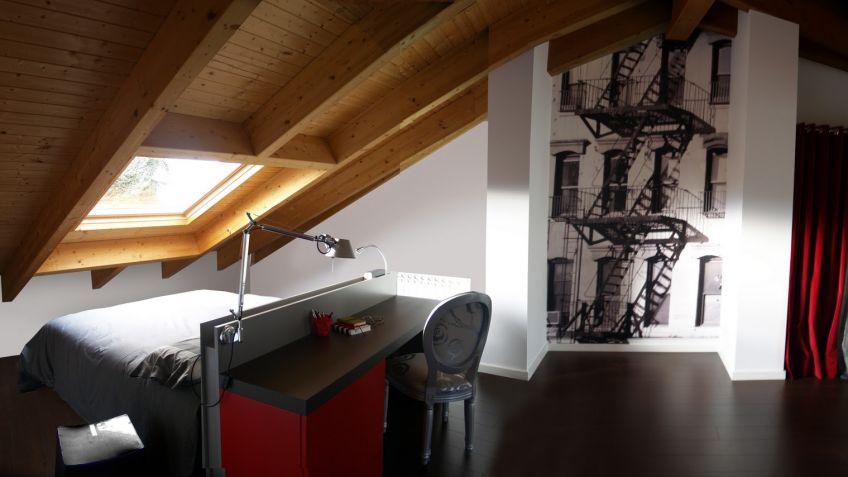 buhardilla de estilo minimalista hogarmania - Buhardillas Modernas