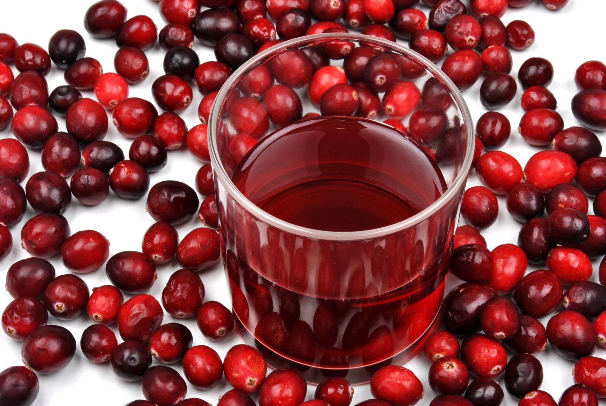 zumo arándano rojo cistitis