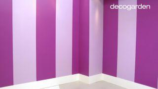 Cómo pintar la pared con líneas verticales - Paso 6