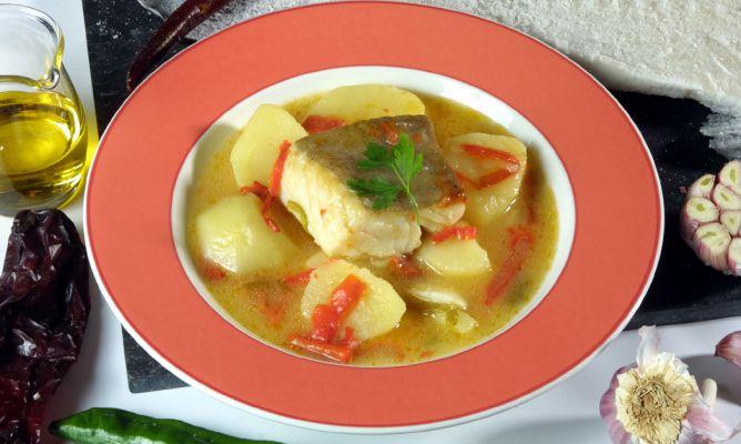 Receta de guiso de bacalao con patatas karlos argui ano for Cocina bacalao con patatas