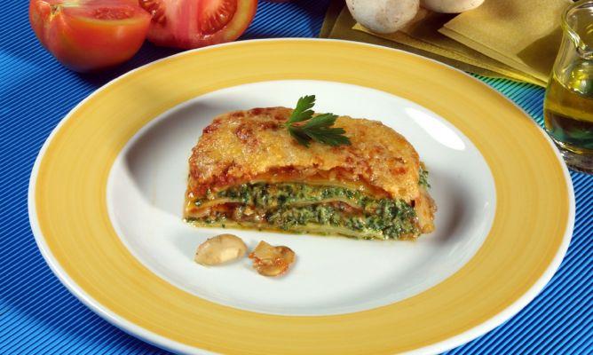 Como Cocinar Lasaña | Receta De Lasana De Champinones Y Espinacas Karlos Arguinano