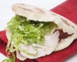 Receta de Sándwich en pan de pita