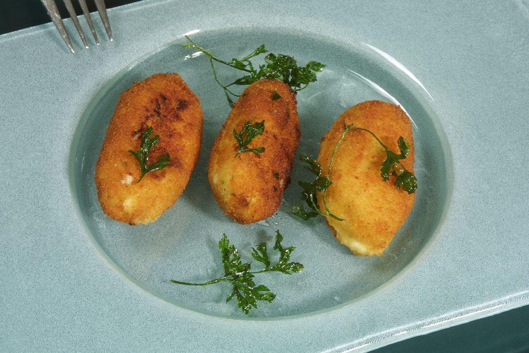Las mejores recetas de croquetas - Croquetas de bacalao
