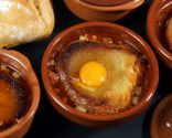 Sopa castellana con pan y yema