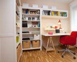 Espacio de trabajo organizado y acogedor
