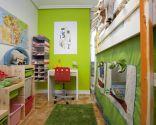 Habitación infantil llena de aventuras
