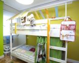 decorar dormitorio con litera