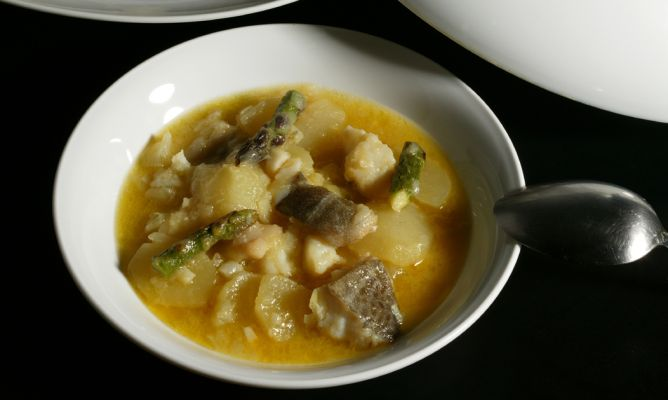 Image Result For Receta Patatas Con Bacalao Guisadas