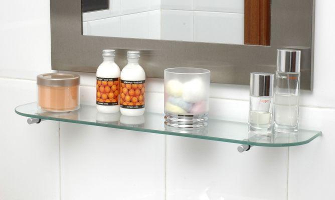 Soporte para balda de cristal bricoman a - Soportes de estanterias ...