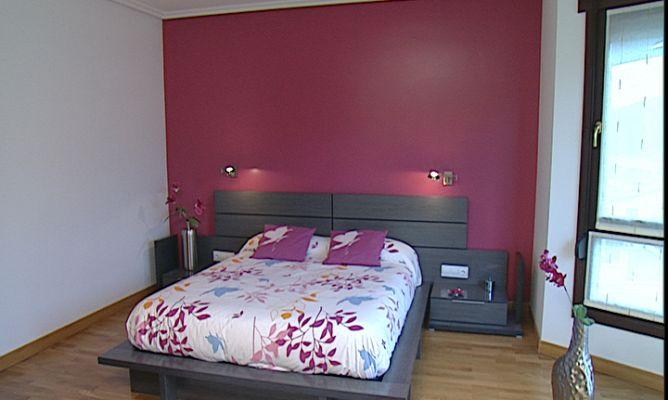 Pintar pared de cabecero bricoman a - Pintar pared dormitorio ...