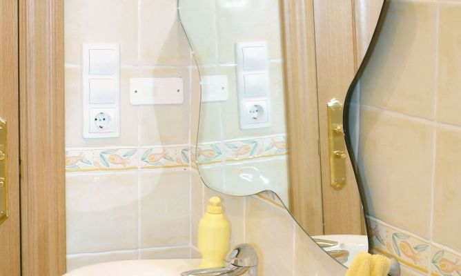 Soportes para espejo bricoman a - Soportes para espejos ...