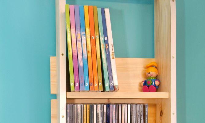 Trineo estanter a bricoman a for Trineo madera decoracion