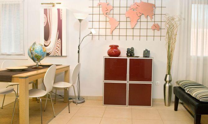 Mapamundi panel decorativo bricoman a - Panel decorativo cocina ...