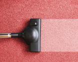 Aspirar las alfombras y moquetas