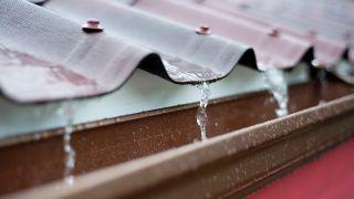 riesgo con agua de lluvia