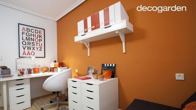 C mo elegir el color para decorar hogarmania for Elementos para decorar una oficina