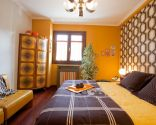 Dormitorio estilo retro