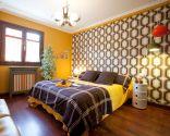 Dormitorio puro estilo retro