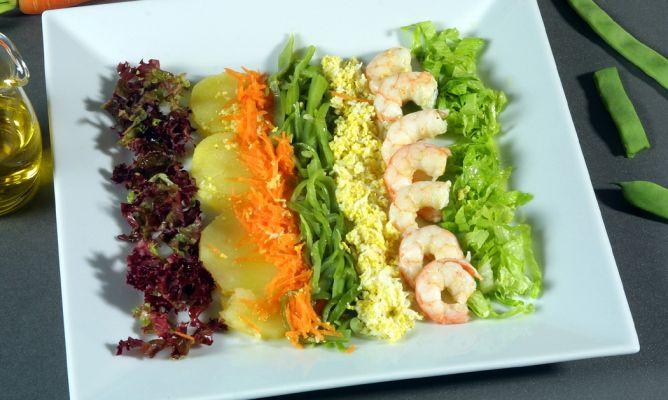 Receta de ensalada kirkilla karlos argui ano - Decoracion de ensaladas ...
