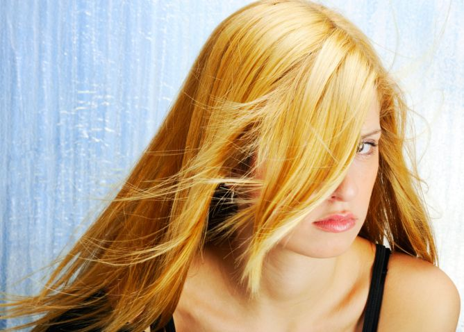 cabello rubio miel - foto 2