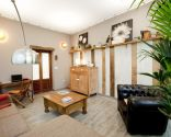 Sala de estar acogedora