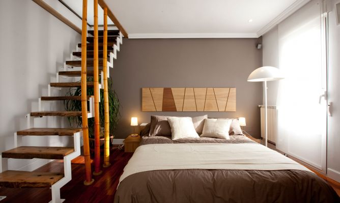 Transformaci n de sal n en dormitorio con vestidor decogarden decoraci n - Vestidores para dormitorios ...