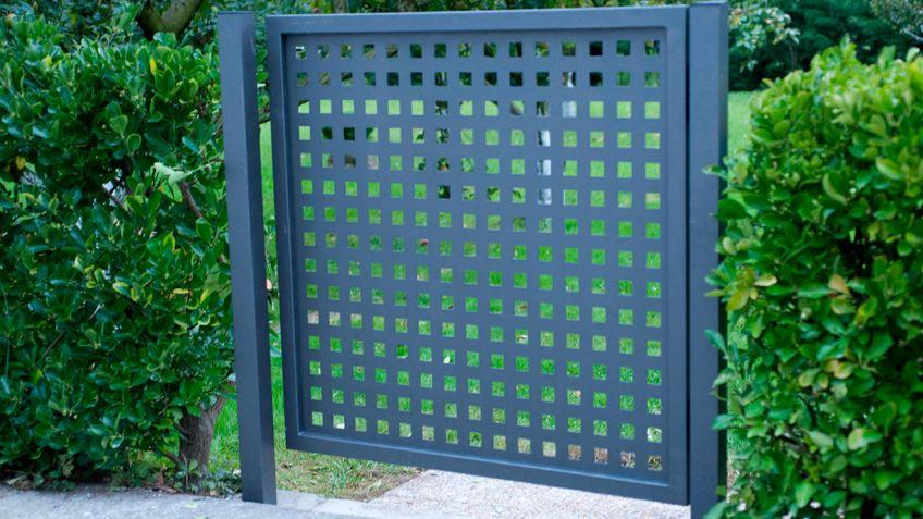 Puerta cancela metálica - Bricomanía