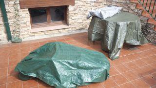 Proteger los muebles de exterior