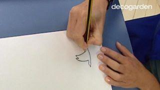 Cómo hacer un cabecero con una secuencia de cuadros... ¡pintando pájaros! - Paso 3