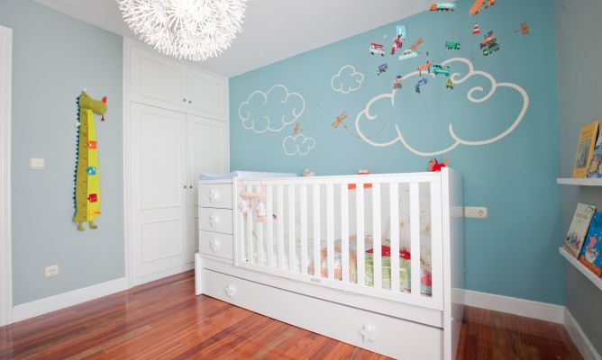 Habitaci n de beb funcional decogarden - Programa para pintar paredes ...