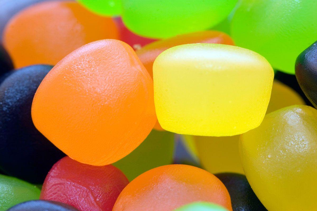 Golosinas caseras con gelatinas de sabores