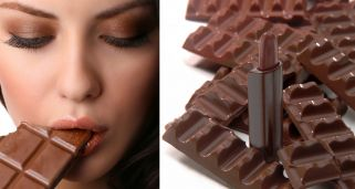 Maquillaje chocolate en tonos marrones