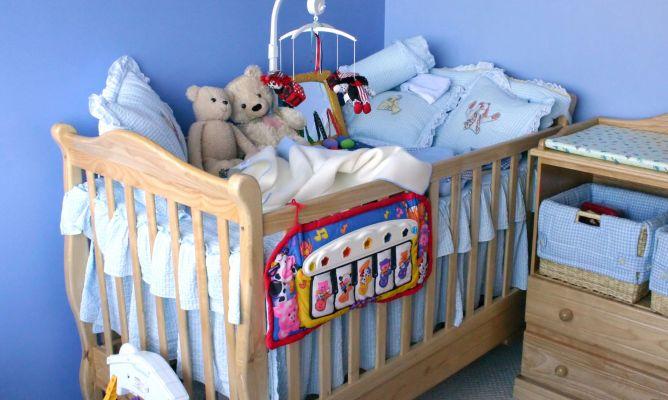 Seguridad infantil en cunas y cambiadores hogarmania - Cambiadores para cunas ...
