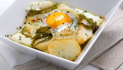 Receta de brandada de bacalao bruno oteiza - Patatas en caldo con bacalao ...
