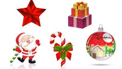 adornos de papel o cartulina para el rbol de navidad
