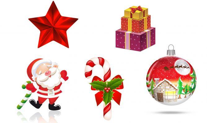 Adornos de papel o cartulina para el rbol de navidad for Adornos navidenos para colorear y recortar