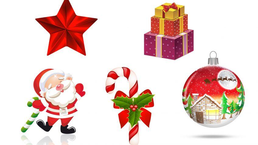 Adornos de papel o cartulina para el árbol de Navidad - Hogarmania