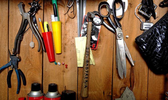 Aparador Laqueado ~ Construir un armario de herramientas Hogarmania