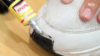 Reparar puntera deportiva