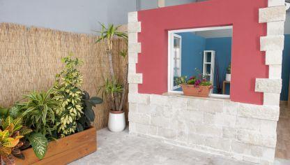 cubrir fachada con piedra decorativa