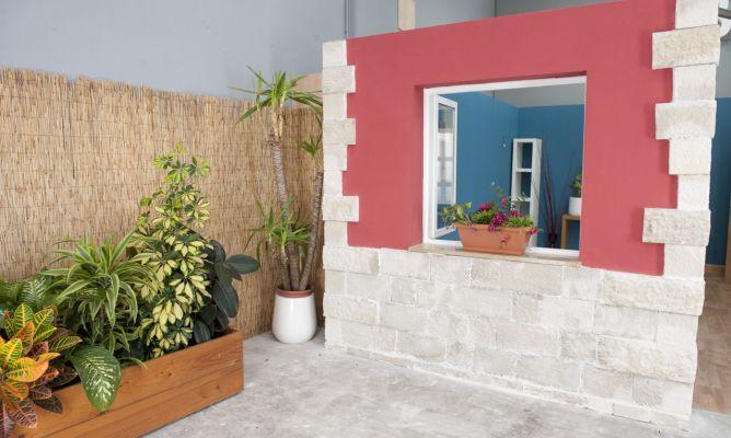 Cubrir fachada con piedra decorativa bricoman a for Plaquetas decorativas para exterior