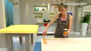 Cómo hacer un cabecero tapizado con tela - Paso 1