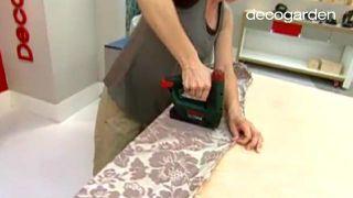 Cómo hacer un cabecero tapizado con tela - Paso 4