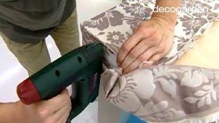 Cómo hacer un cabecero tapizado con tela - Paso 5